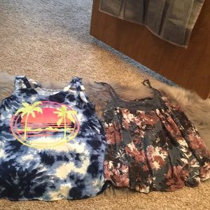 Bundle deal of two tank tops!